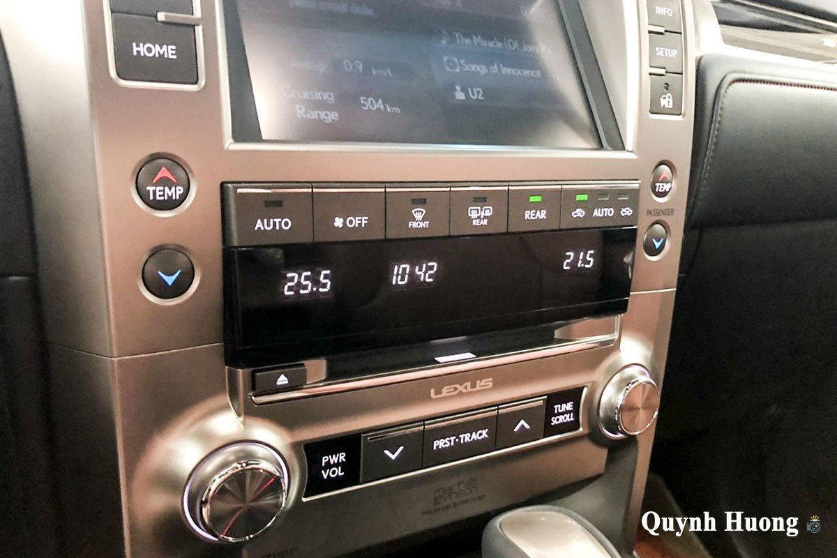 Ảnh điều hoà xe Lexus GX 460 2020