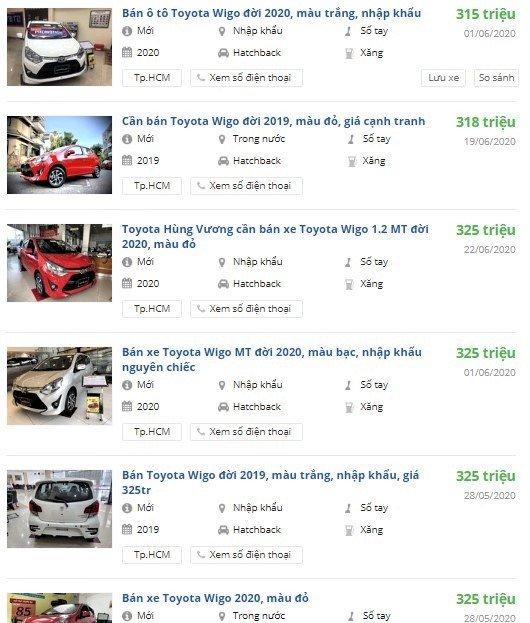 Toyota Wigo bản số sàn MT có giá chỉ từ 315 triệu đồng 1