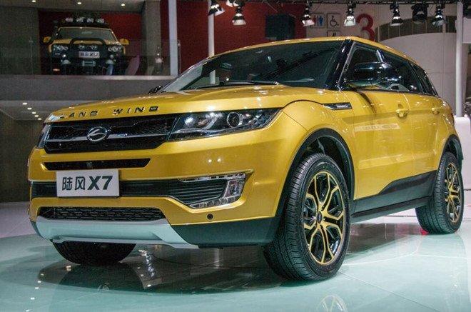 Landwind X7 nhái Range Rover Evoque.