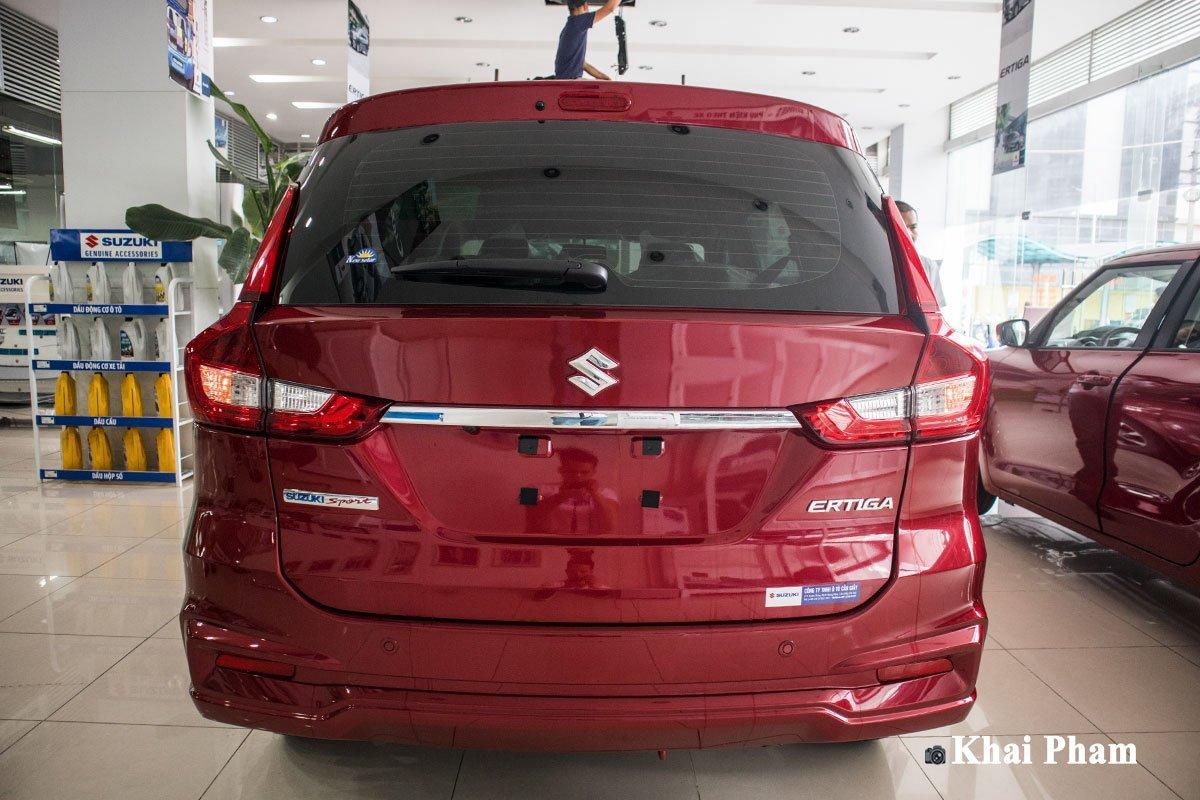 Ảnh chính diện đuôi xe Suzuki Ertiga Sport 2020