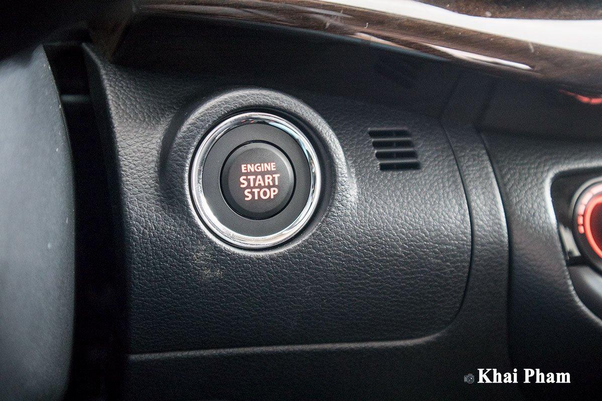 Ảnh nút khởi động xe Suzuki Ertiga Sport 2020