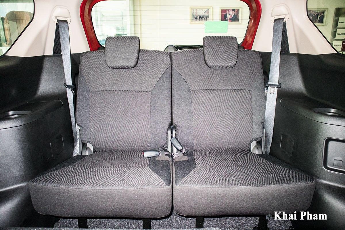 Ảnh ghế cuối xe Suzuki Ertiga Sport 2020 a1