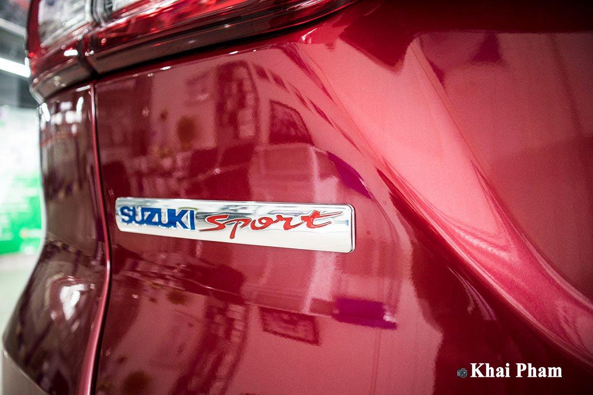 Ảnh trước đầu xe Suzuki Ertiga Sport 2020