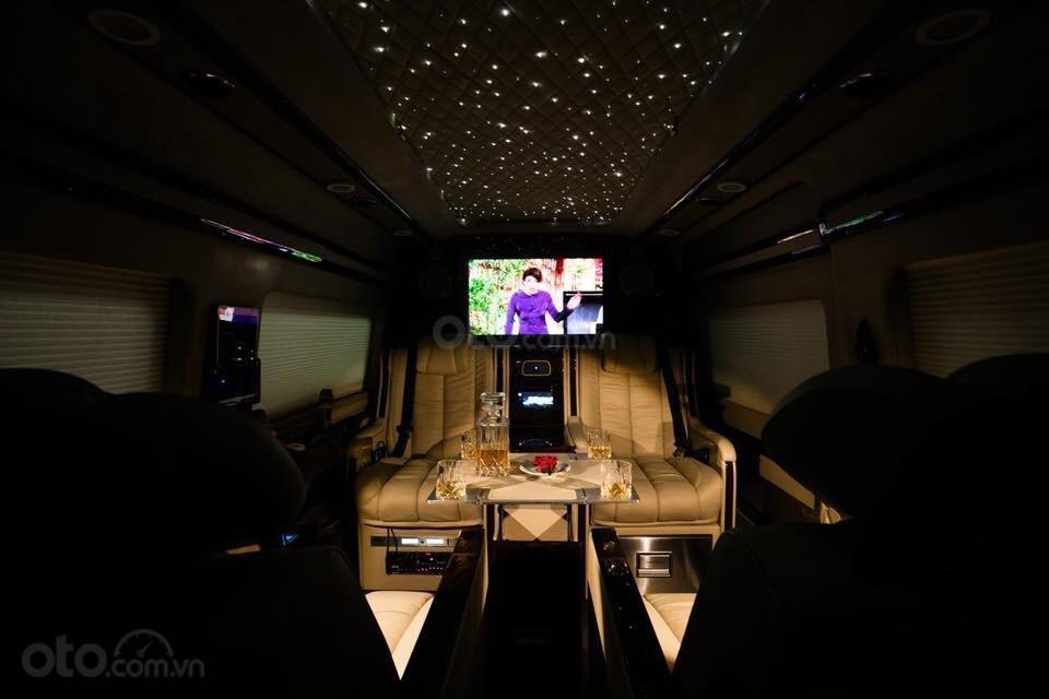 Transit Limousine 10 chỗ phiên bản VIP độc quyền tại Sài Gòn Ford (11)