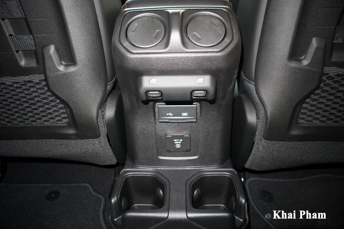 Ảnh cửa gió điều hoà xe Jeep Gladiator Launch Edition 2020