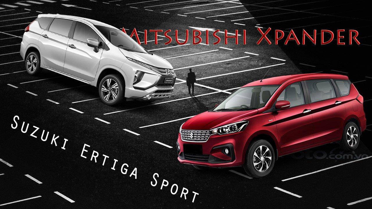 So sánh xe Mitsubishi Xpander 2020 và Suzuki Ertiga Sport 2020: Nâng cấp để tiếp tục cuộc chiến a1