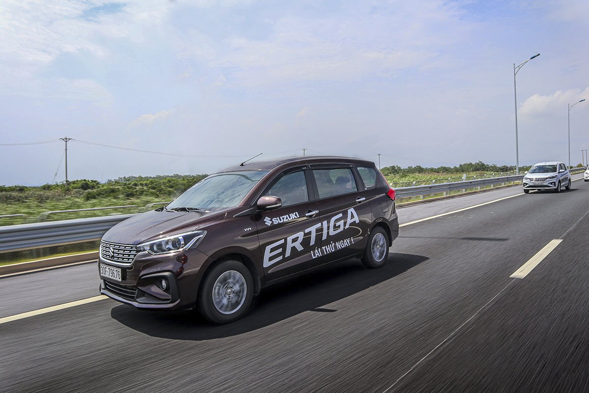 Ảnh Vận hành xe Suzuki Ertiga Sport 2020