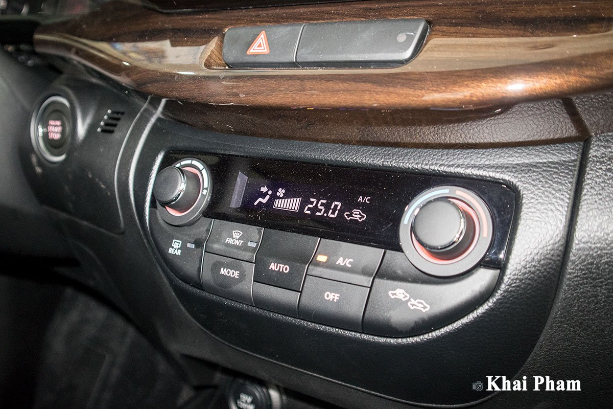 Ảnh Điều hoà xe Suzuki Ertiga Sport 2020