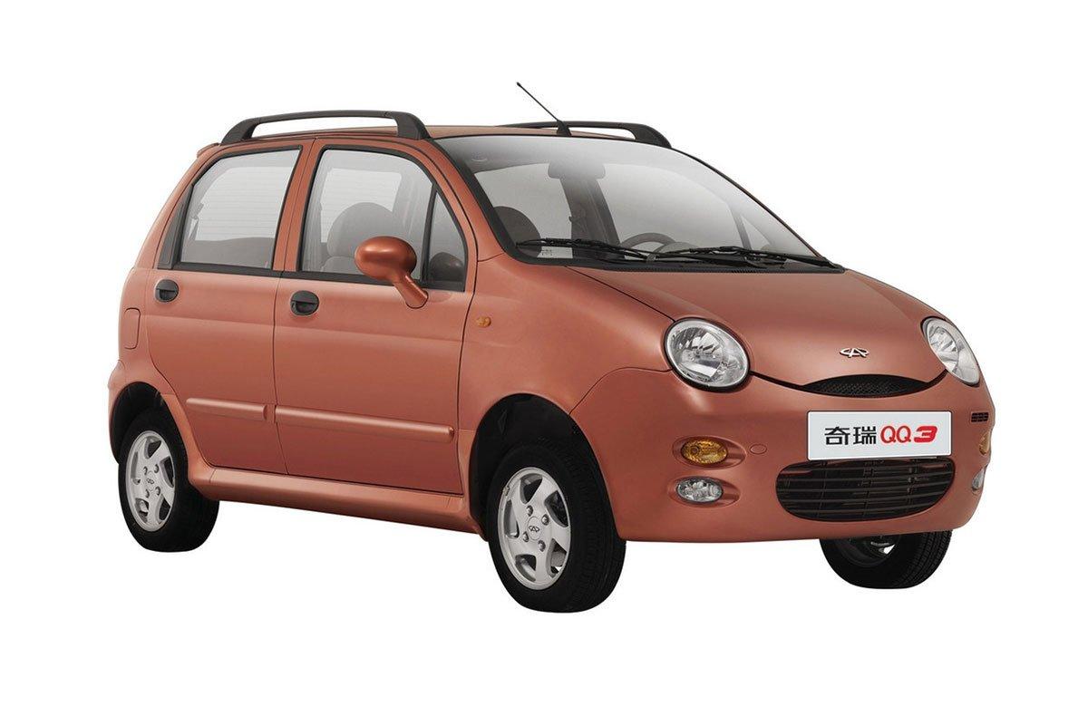 Chery QQ3 có ngoại hình khá giống với Daewoo Matiz.
