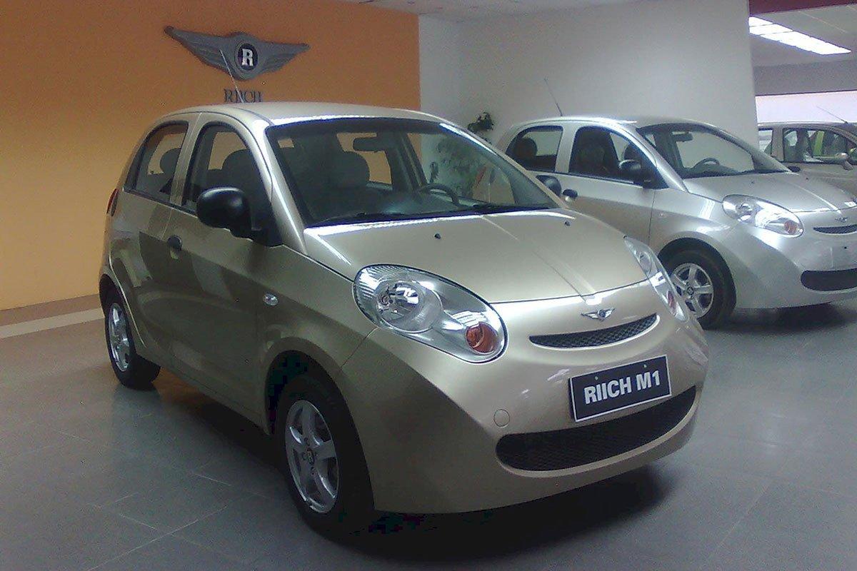 Chery Riich M1 tiếp tục được Liên doanh ô tô Hoà Bình giới thiệu tới khách hàng Việt.