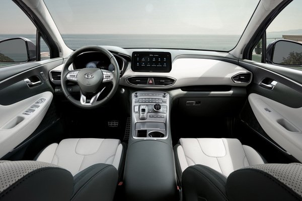 Hyundai Santa Fe 2021 facelift mới - 4.