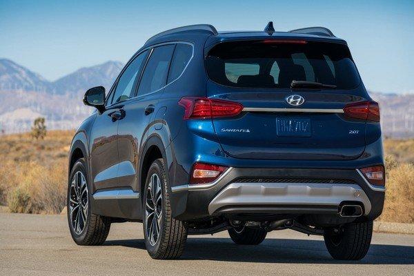 Hyundai Santa Fe bản trước - 3.