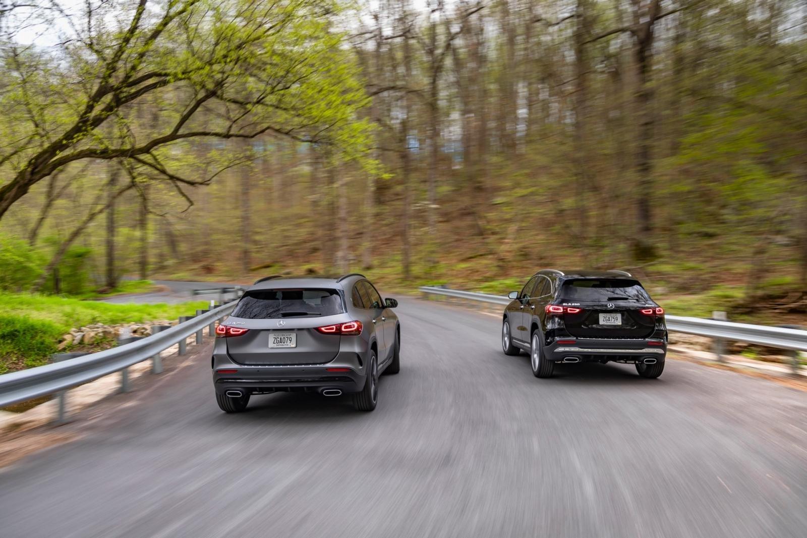 Mercedes GLA 2021 nâng cấp sức mạnh.
