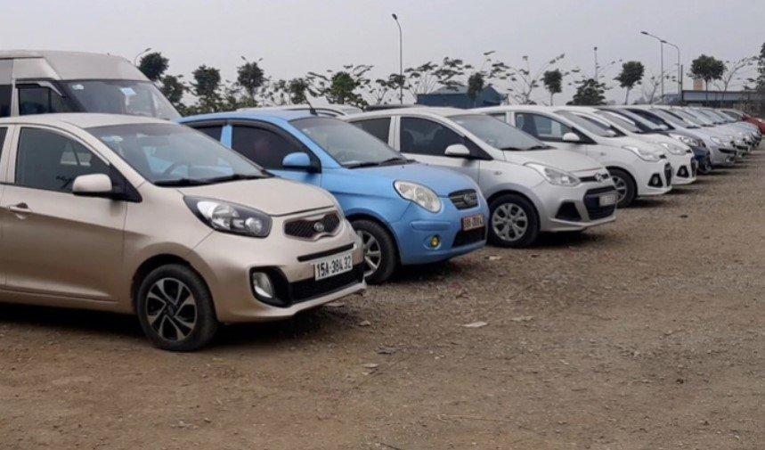 Tìnhtrạng của những chiếc xe ô tô bị phát mại a1