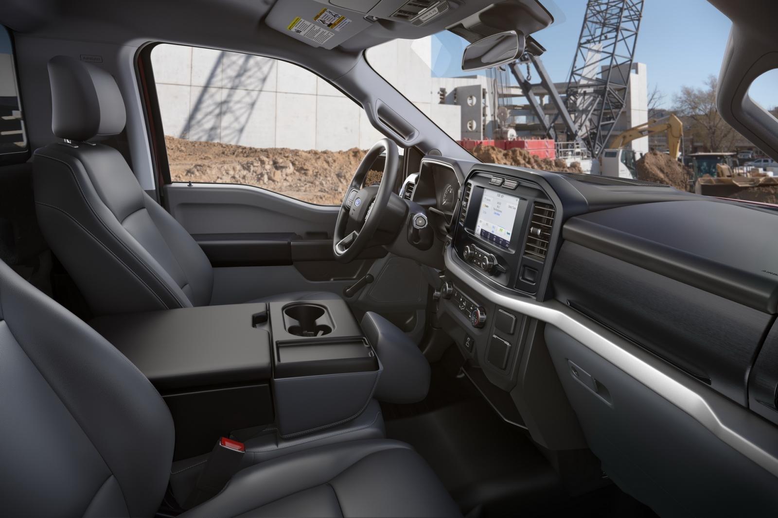 Ford F-150 2021 mới nâng tầm trải nghiệm lái.