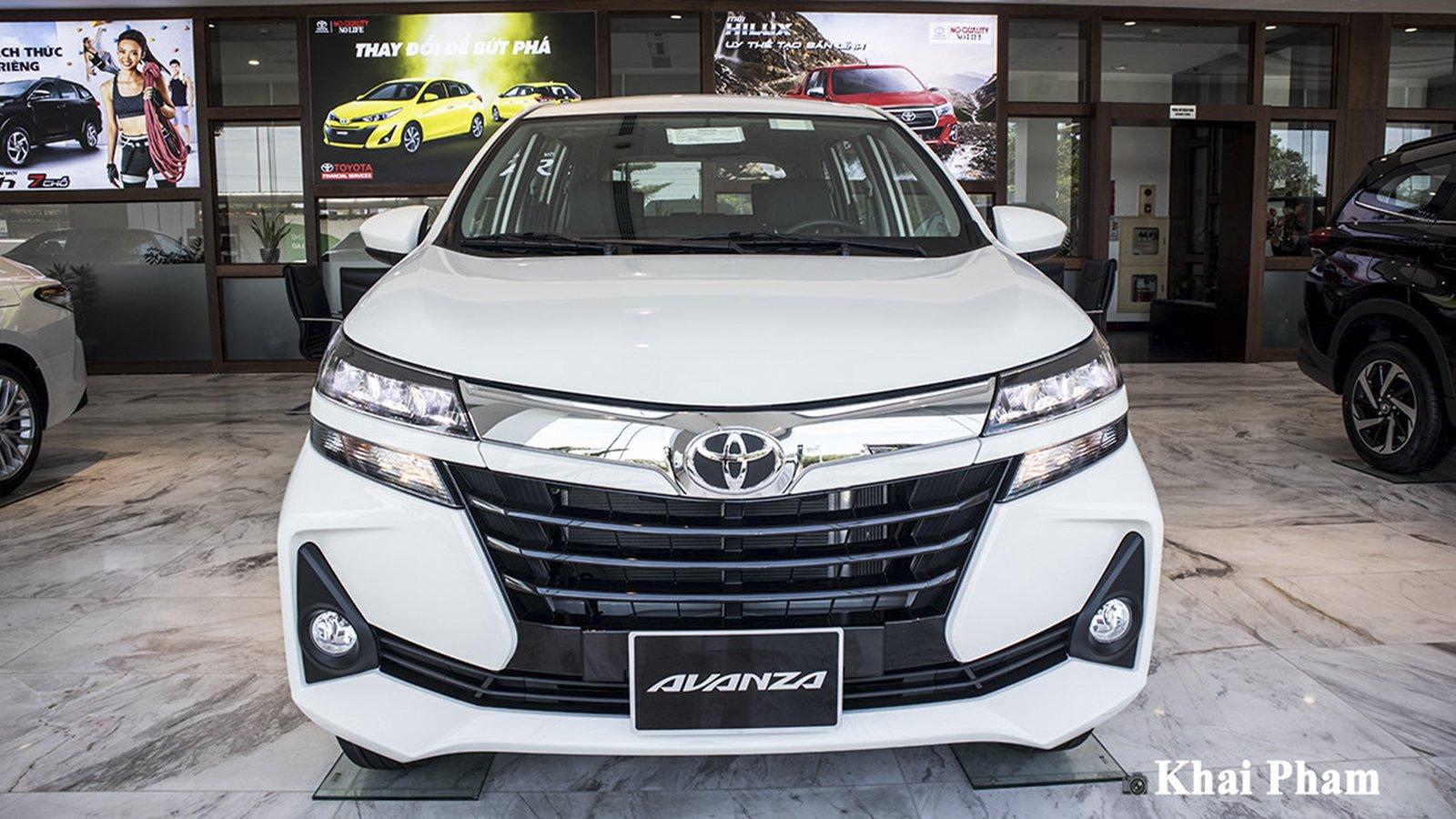Ảnh đầu xe Toyota Avanza 2020
