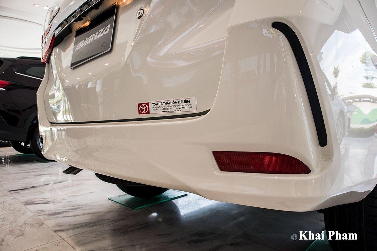 Ảnh Cản sau xe Toyota Avanza 2020