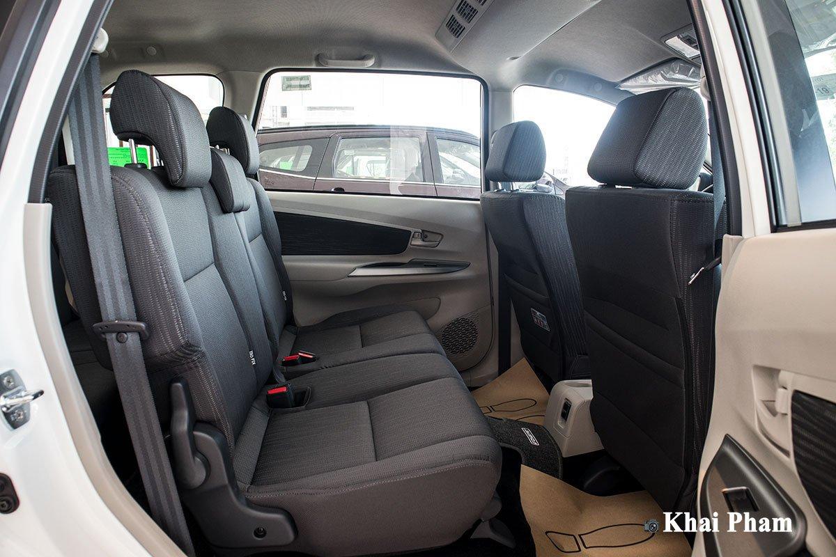 Ảnh Ghế hai xe Toyota Avanza 2020