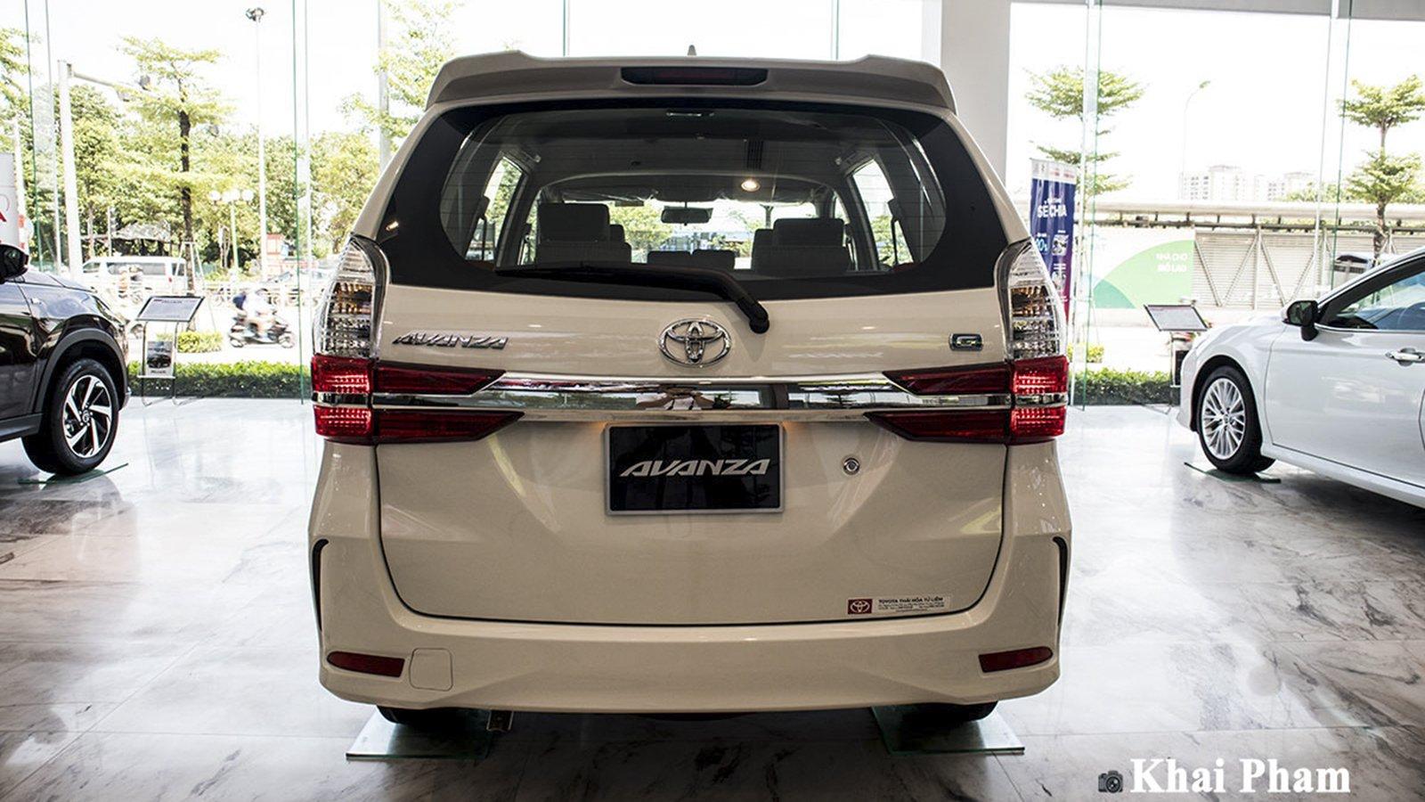 Ảnh Đuôi xe Toyota Avanza 2020