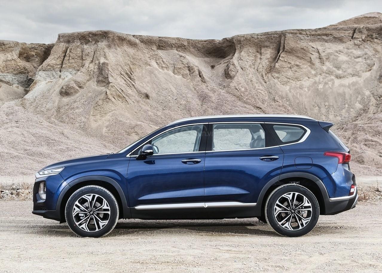 Hyundai Santa Fe 2.2 dầu cao cấp 2020, ưu đãi lớn, giao xe ngay (2)