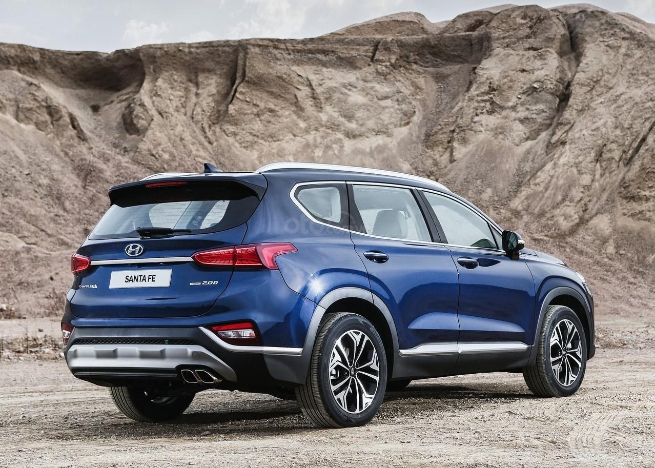 Hyundai Santa Fe 2.2 dầu cao cấp 2020, ưu đãi lớn, giao xe ngay (3)