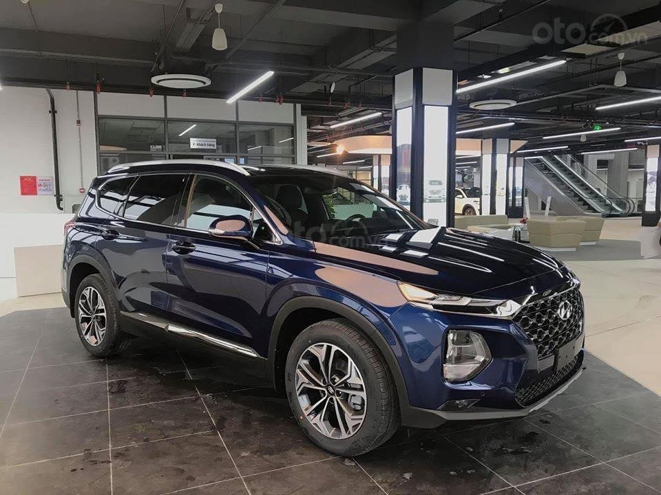 Hyundai Santa Fe 2.2 dầu cao cấp 2020, ưu đãi lớn, giao xe ngay (6)