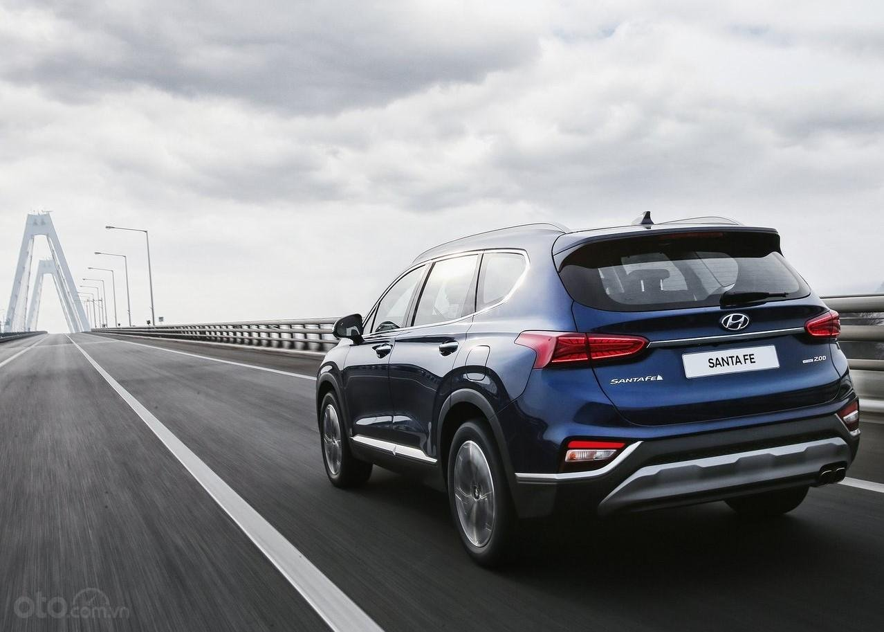 Hyundai Santa Fe 2.2 dầu cao cấp 2020, ưu đãi lớn, giao xe ngay (5)