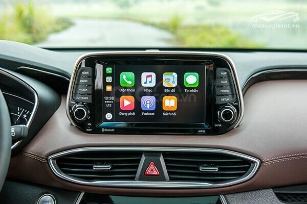 Hyundai Santa Fe 2.2 dầu cao cấp 2020, ưu đãi lớn, giao xe ngay (7)