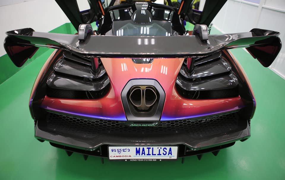 McLaren Senna độc nhất Việt Nam đã lộ diện, đại gia Việt gắn biển số tên vợ a4