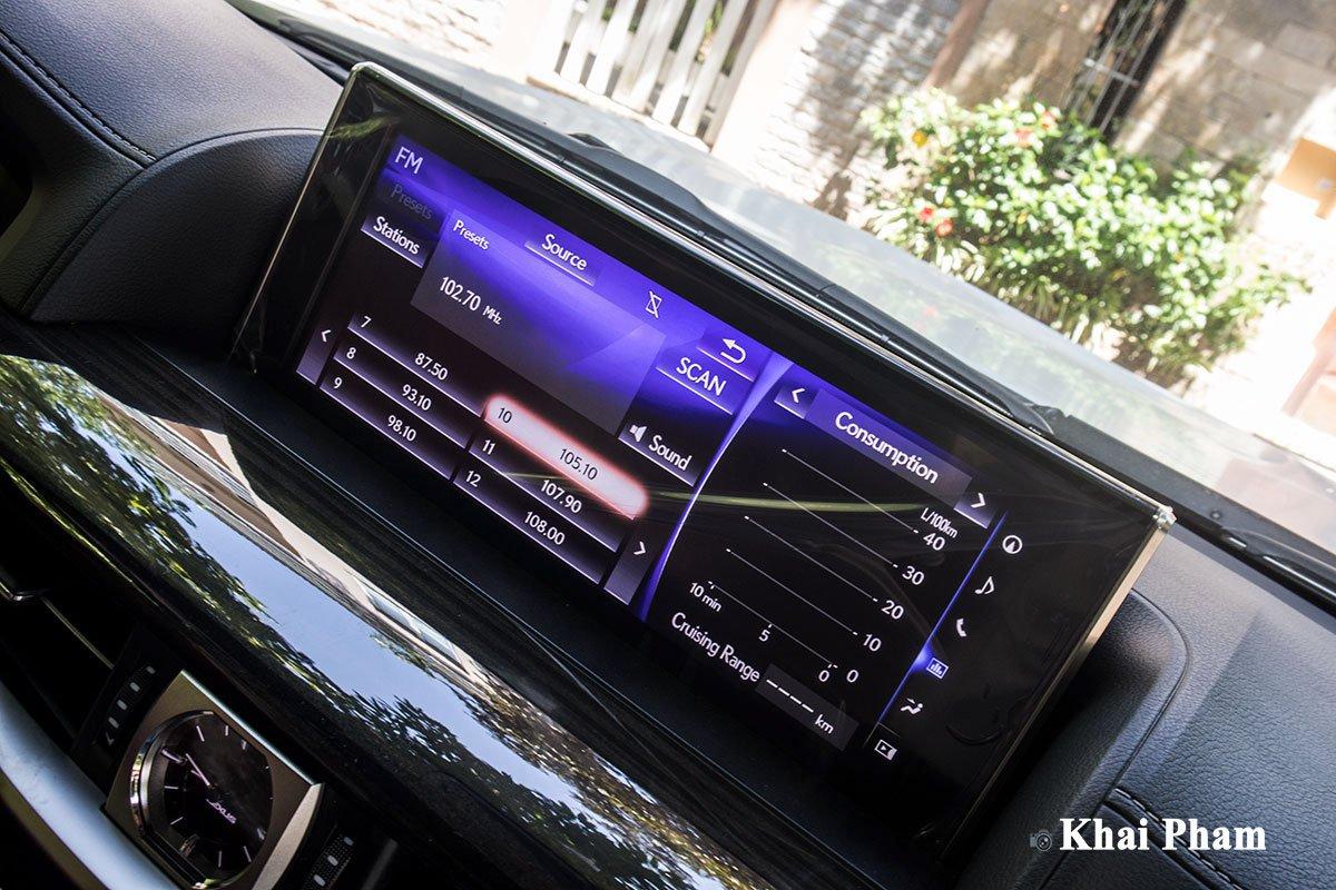 Ảnh màn hình xe Lexus LX 570 Super Sport 2020