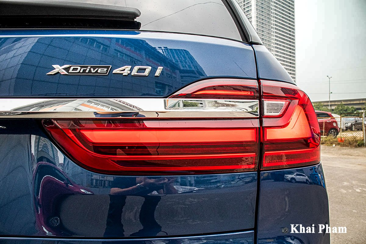 Ảnh Đèn hậu xe BMW X7 2020