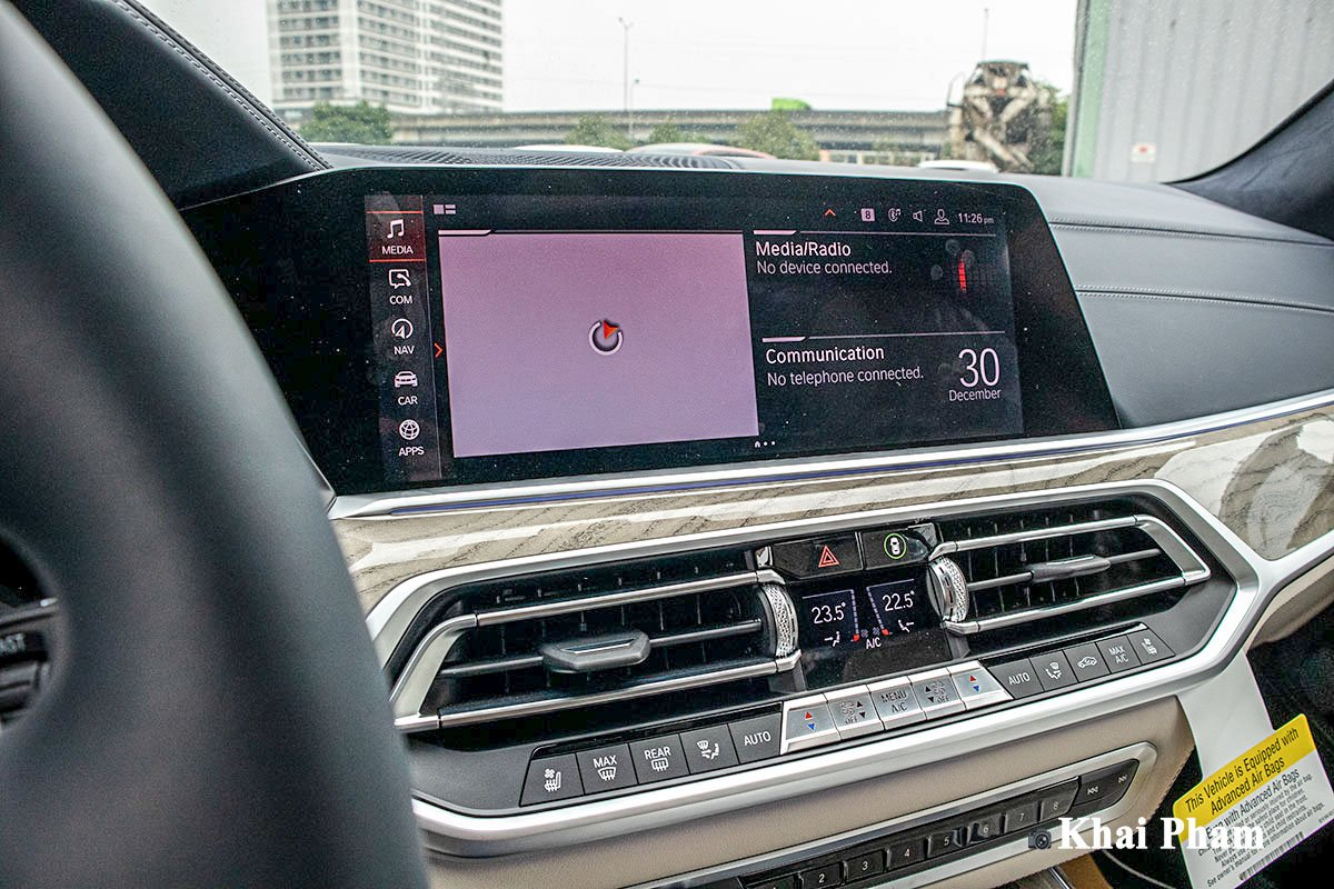 Ảnh màn hình xe BMW X7 2020