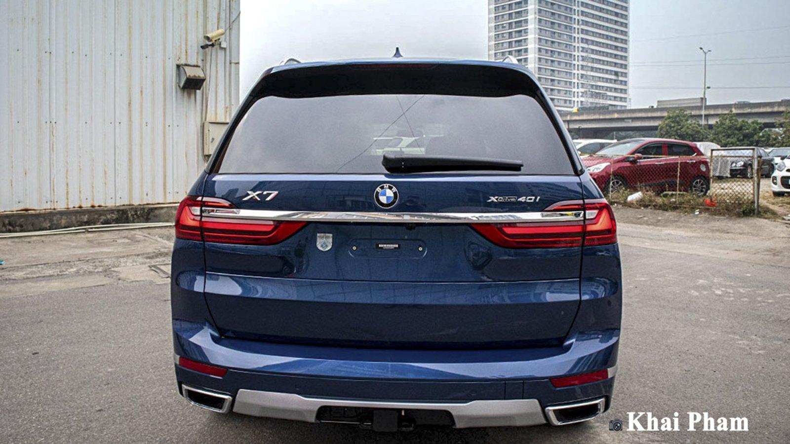 Ảnh Đuôi xe BMW X7 2020