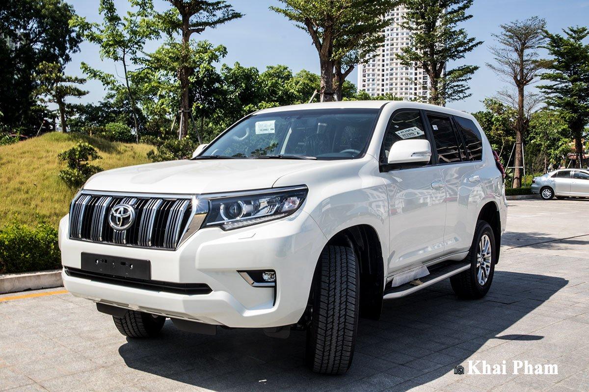 Ảnh động cơ xe Toyota Land Cruiser Prado 2020