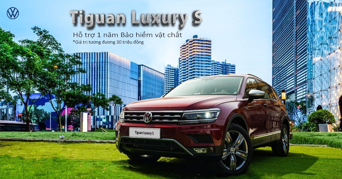 Khách mua Volkswagen Tiguan Allspace Luxury S được hỗ trợ 1 năm bảo hiểm vật chất 1