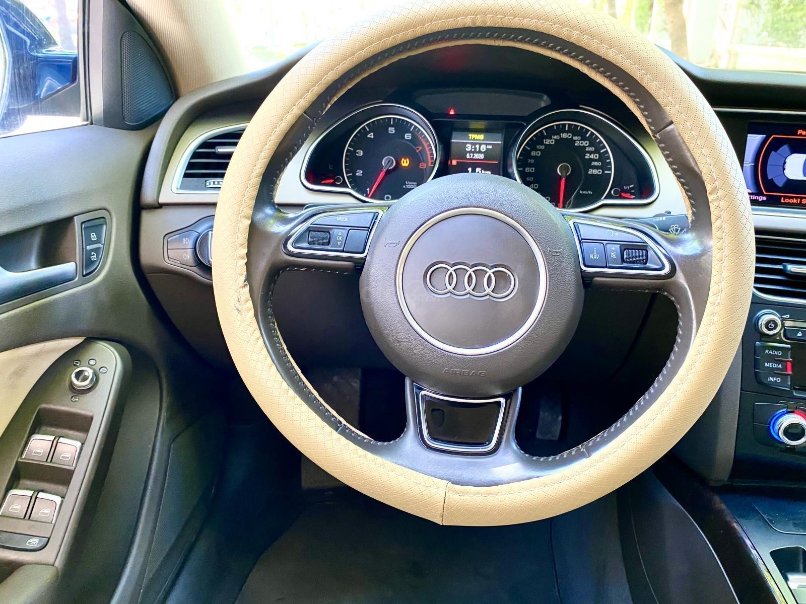 Audi A5 nhập Đức 2015 màu xanh zin, full và độ vào rất nhiều đồ chơi cao cấp, số tự động 6 cấp, nội thất kem (6)