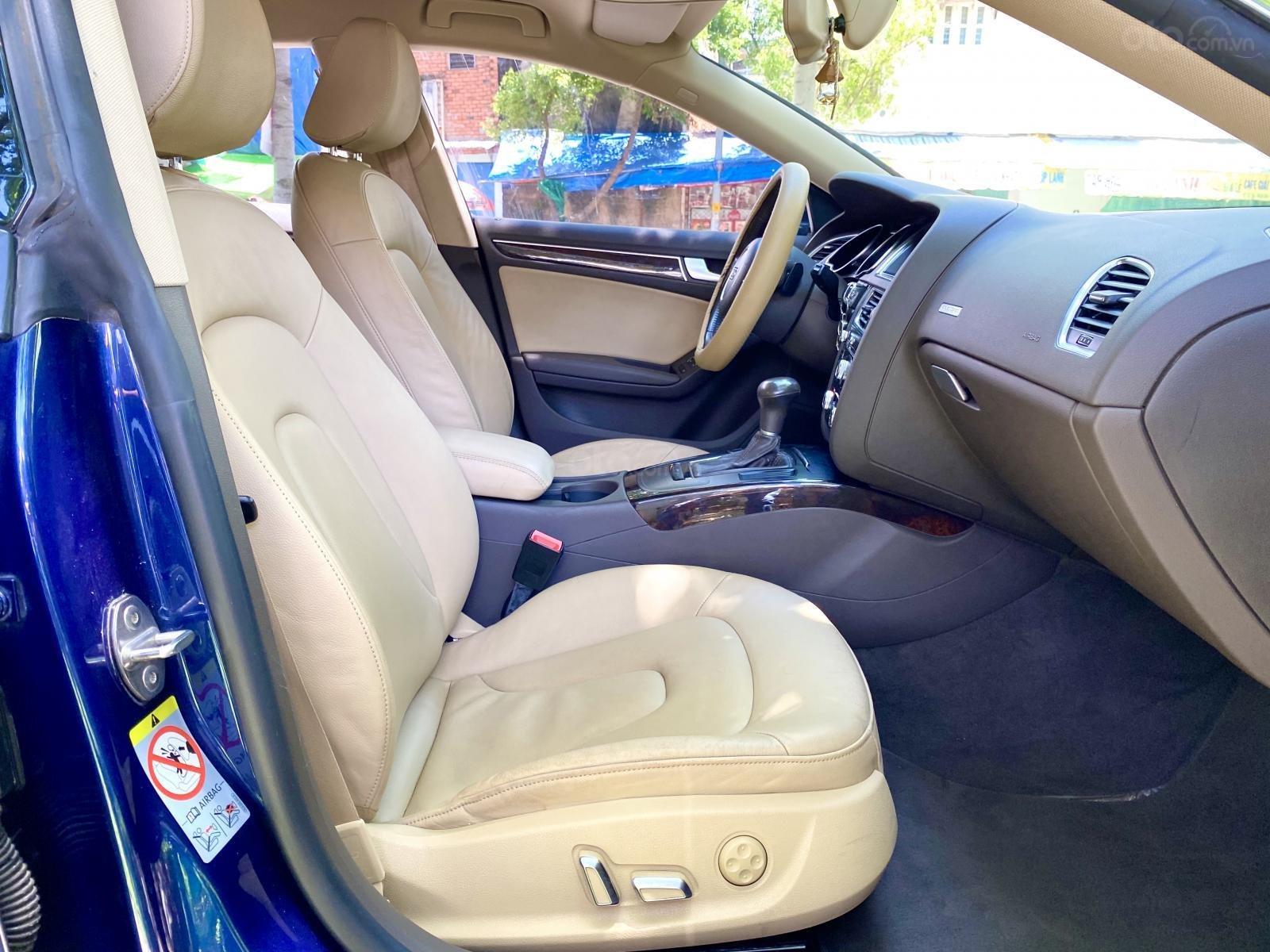 Audi A5 nhập Đức 2015 màu xanh zin, full và độ vào rất nhiều đồ chơi cao cấp, số tự động 6 cấp, nội thất kem (7)