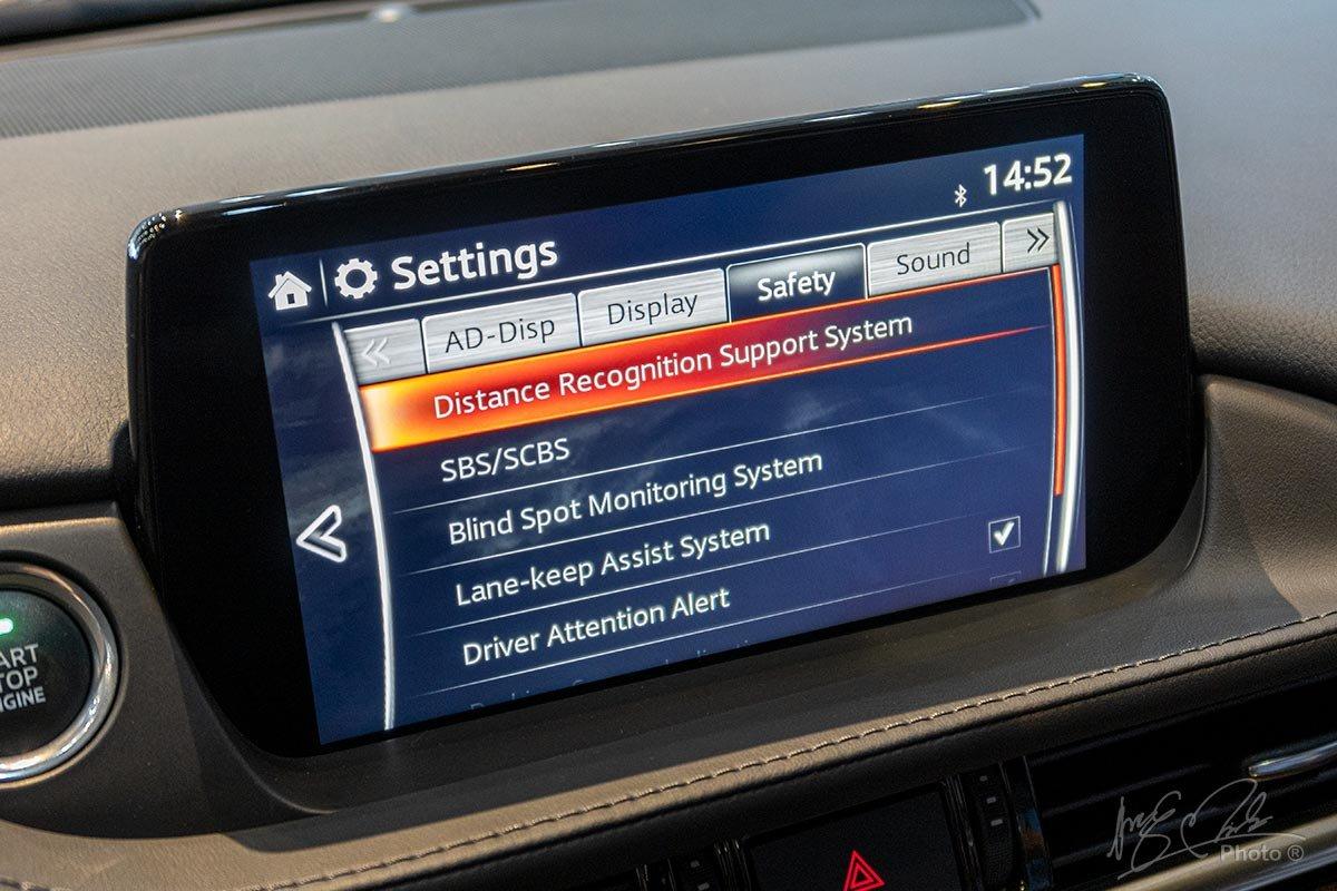 Đánh giá xe Mazda 6 2020: Hệ thống an toàn.