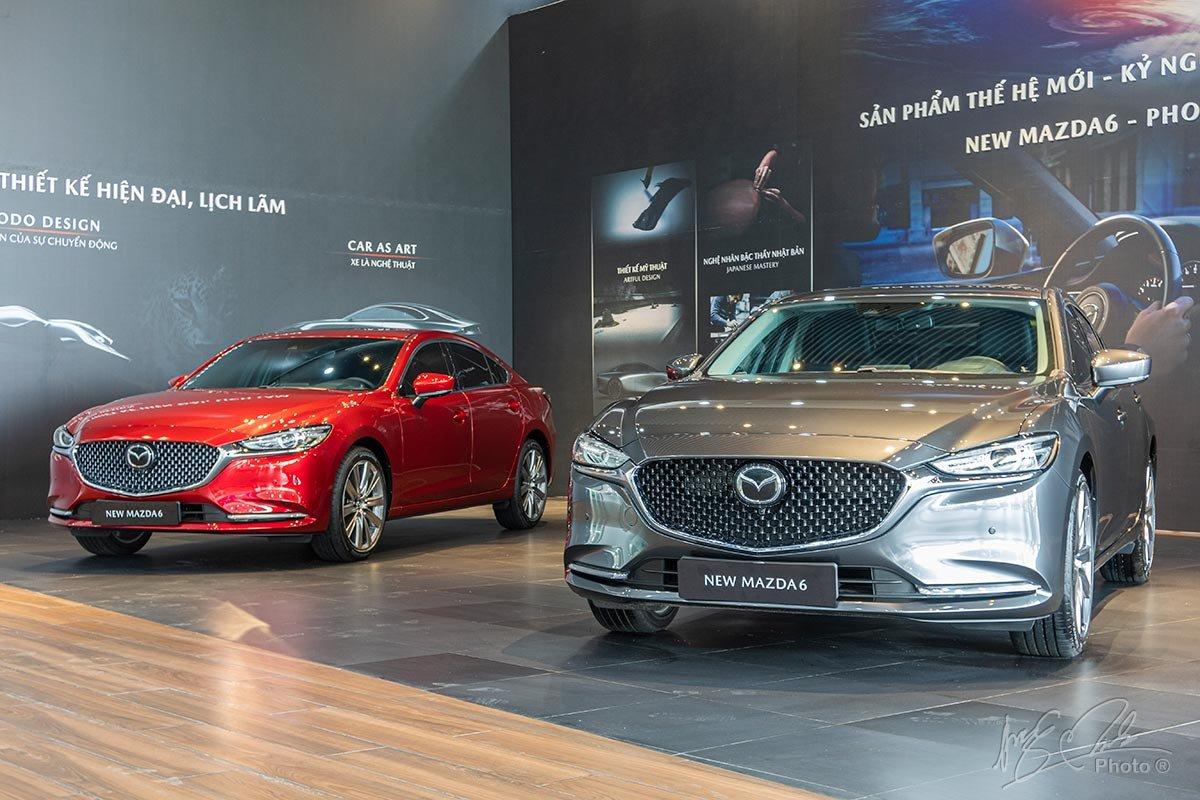 Đánh giá xe Mazda 6 2020.