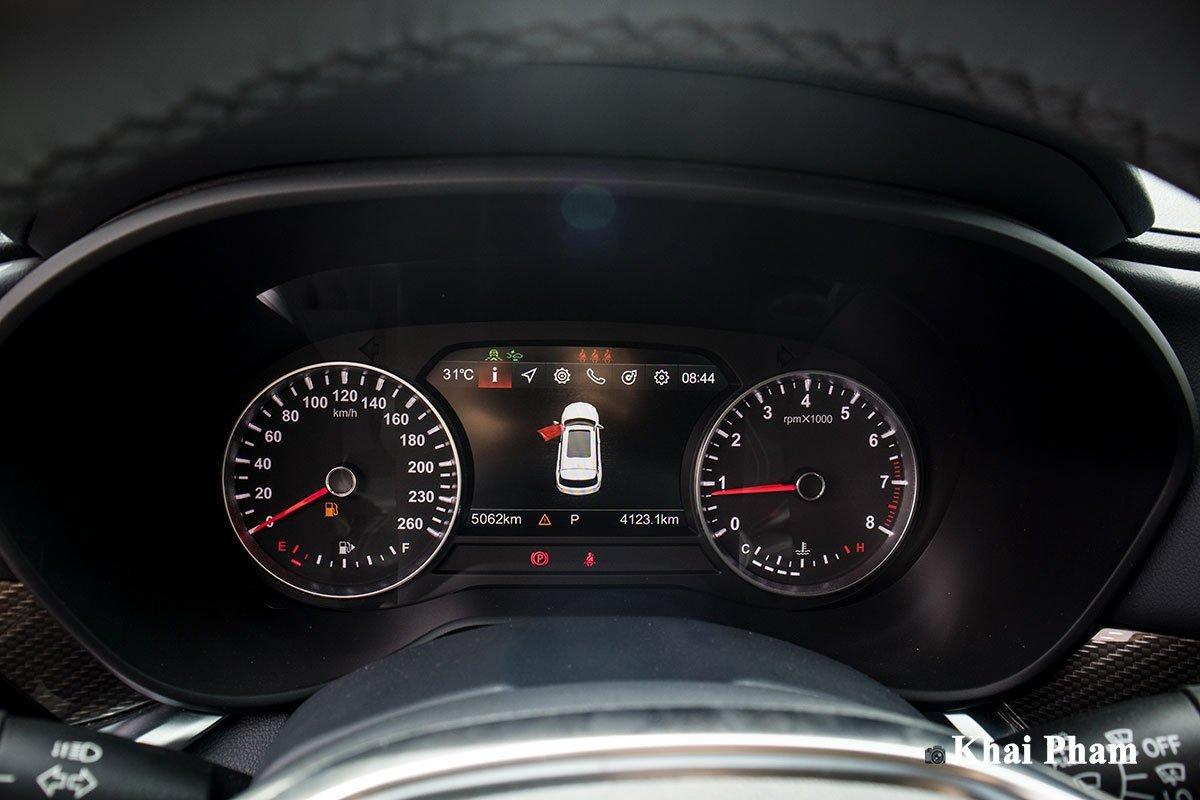 Bảng đồng hồ hiển thị thông tin trên xe Brilliance V7 2020 1