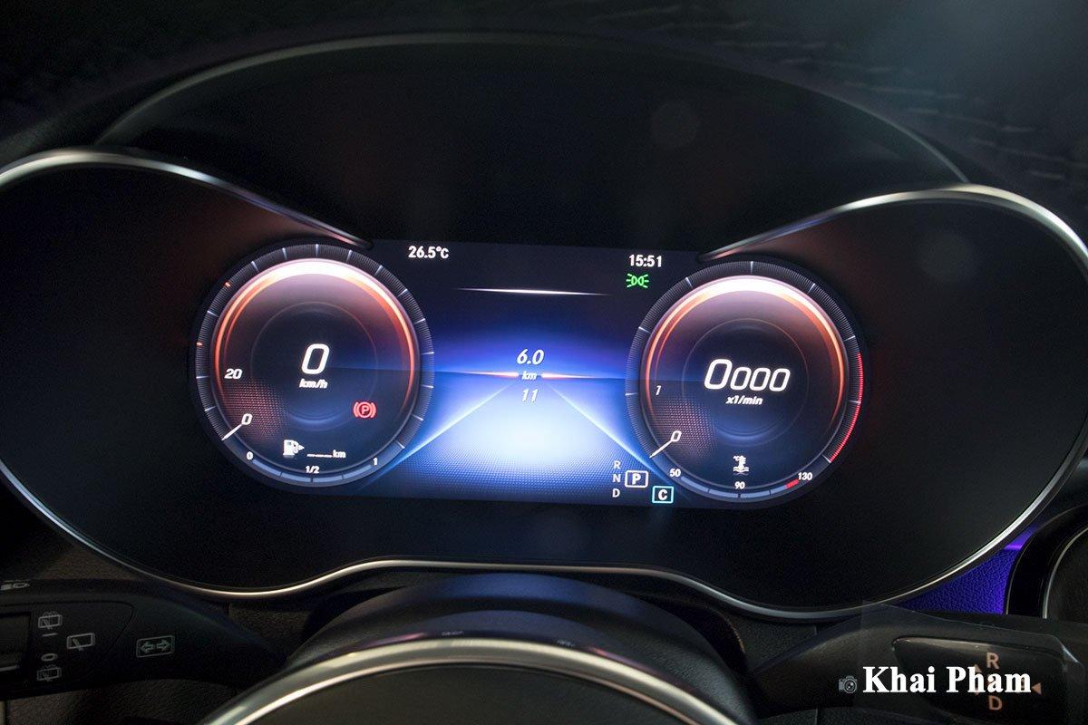 Ảnh Đồng hồ xe Mercedes-Benz GLC 300 2020