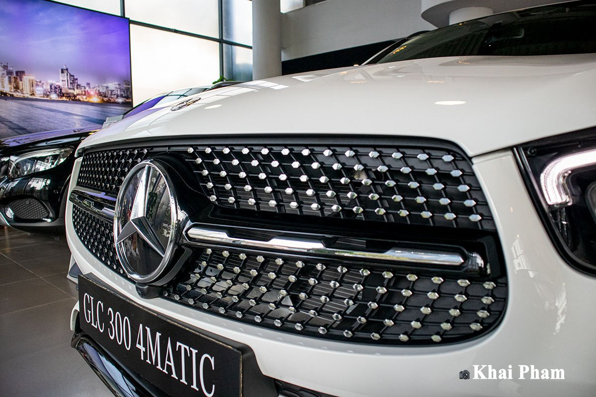 Ảnh Lưới tản nhiệt xe Mercedes-Benz GLC 300 2020