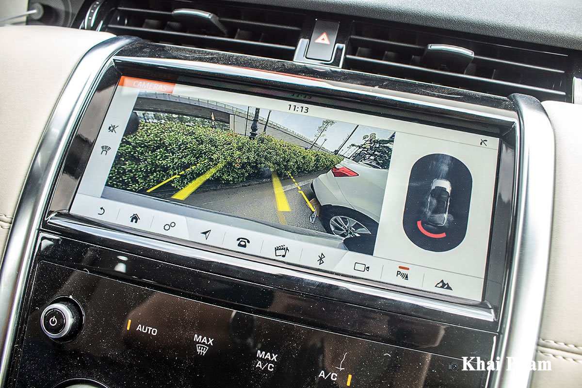 Ảnh Camera xe Land Rover Discovery Sport 2020