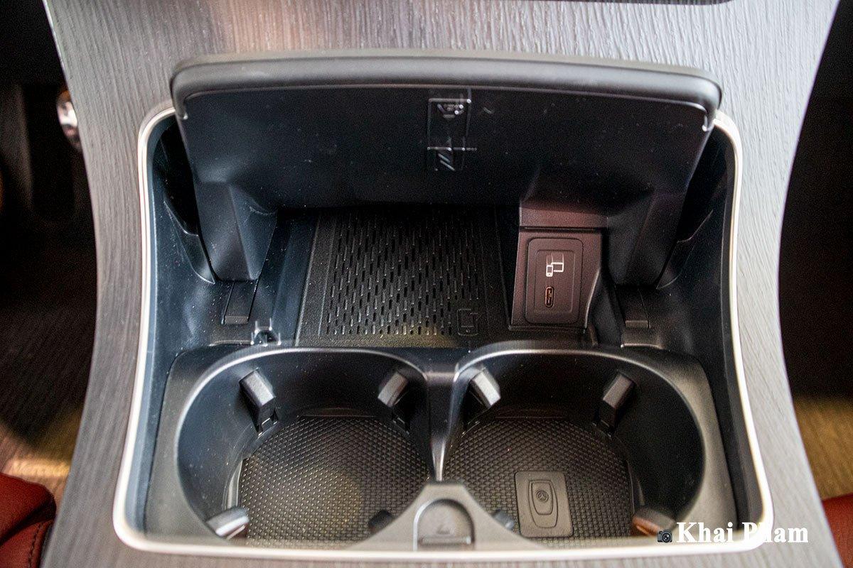 Ảnh Sạc không dây xe Mercedes-Benz GLC 300 2020