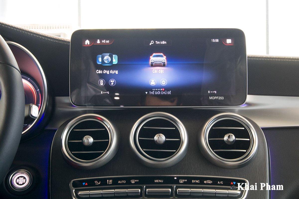 Ảnh màn hình xe Mercedes-Benz GLC 300 2020