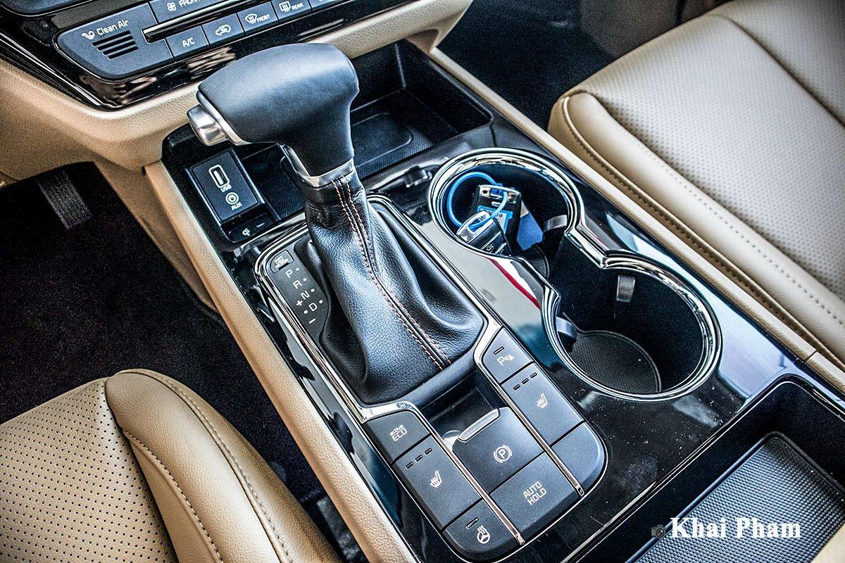 Ảnh Cần số xe Kia Sedona 2020