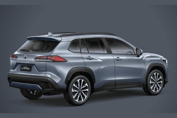 Toyota Corolla Cross 2021 sở hữu các tinh túy thiết kế của nhà sản xuất xe Nhật.
