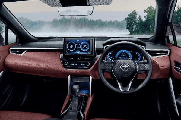 Toyota Corolla Cross 2021 tạo hình quyến rũ.