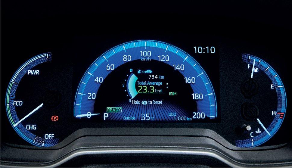Toyota Corolla Cross 2021 trang bị hiện đại.