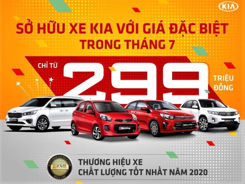 Kia Việt Nam khuyến mãi lên tới 60 triệu đồng trong tháng 7/2020 1